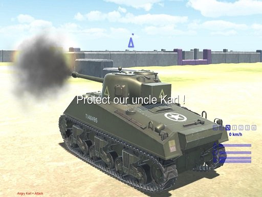 2020. Realistična simulacija tenkovske bitke