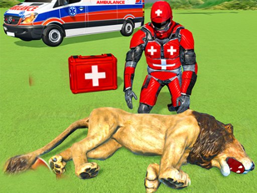 Igra spašavanja životinja Doctor Robot 3D