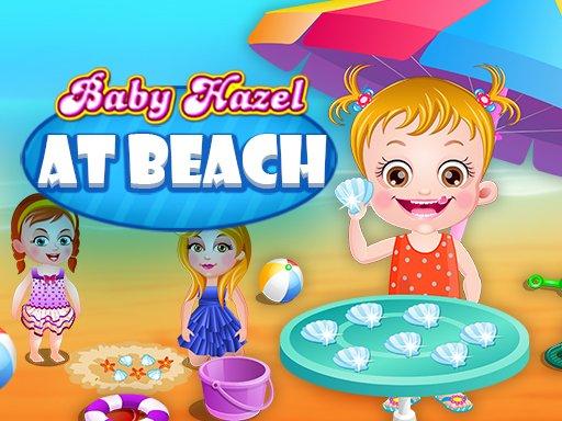 Baby Hazel na plaži