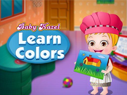 Baby Hazel uči boje
