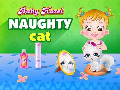 Baby Hazel nestašna mačka