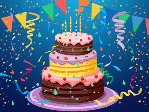 Slagalica za rođendansku tortu