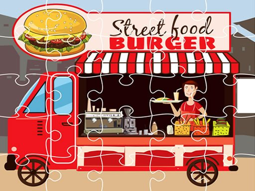 Slagalica Burger Trucks