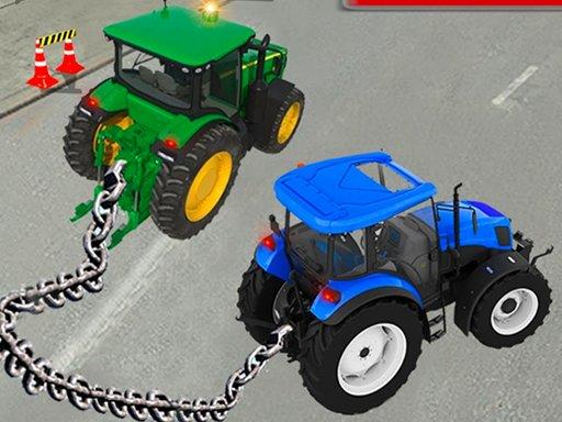 Simulator vuče lančanog traktora