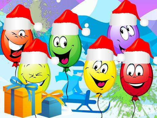 Božićni baloni pucaju