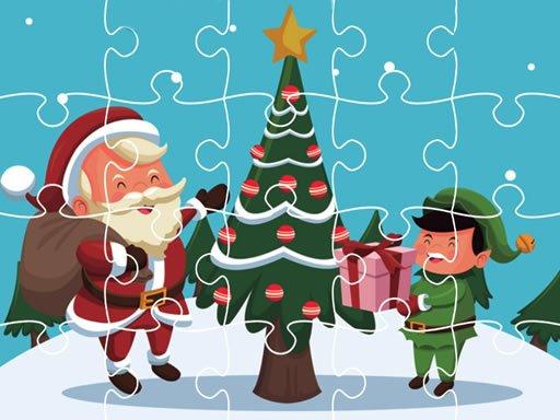 Jigsaw za božićne čestitke