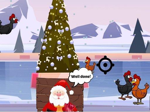 Božićna pileća pucnjava