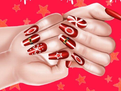 Božićni modni salon za nokte