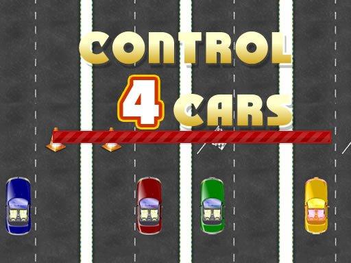 Kontrola 4 automobila
