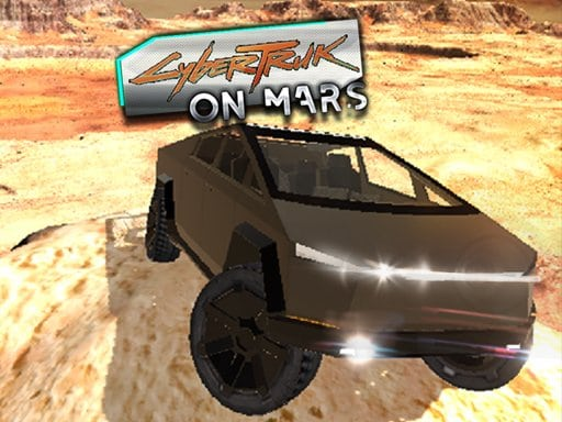 CyberTruck na Marsu