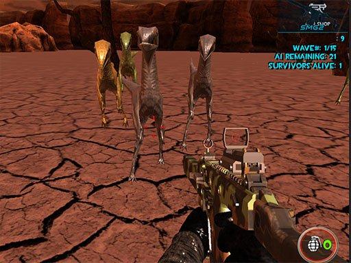 Dinosaurs Survival Active Vulcan Multiplayer