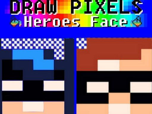 Crtanje piksela Heroes Face