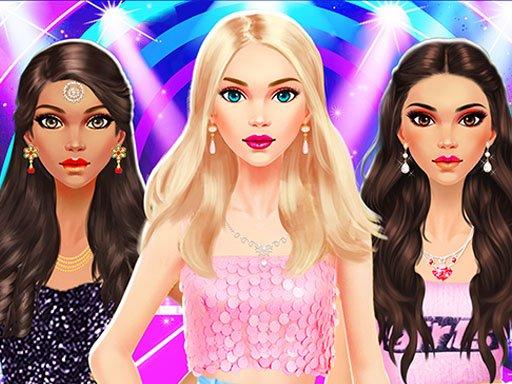 Igre šminke Igre šminkanja Modni stilist za djevojčice