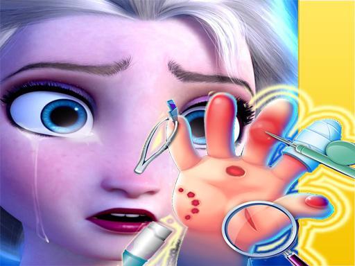 Elsa Hand Doctor – zabavne igre za djevojčice na mreži