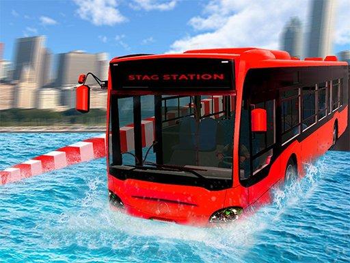 Plutajući autobus s ekstremnom vodom