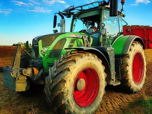 Slagalica za poljoprivredni traktor