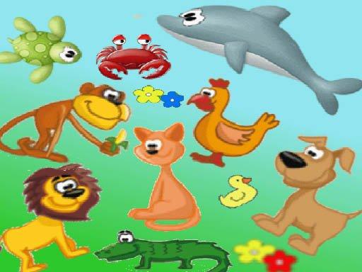 Pronađi životinju – dodir životinja