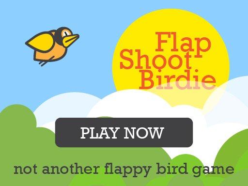 Flap Shoot Birdie Mobile Friendly FullScreen igra