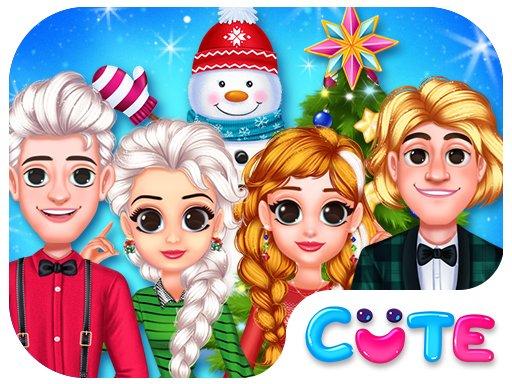 Smrznuta princeza Božićna proslava