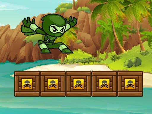 Zeleni Ninja Run