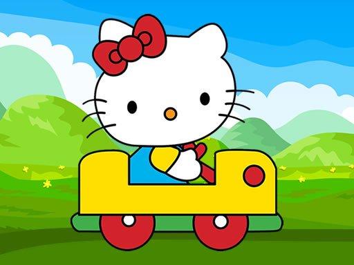 Jigsaw za automobil Hello Kitty