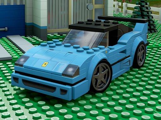 Lego automobili Jigsaw