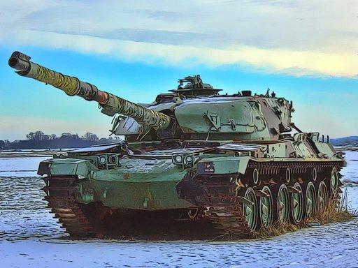 Jigsaw Vojni tenkovi