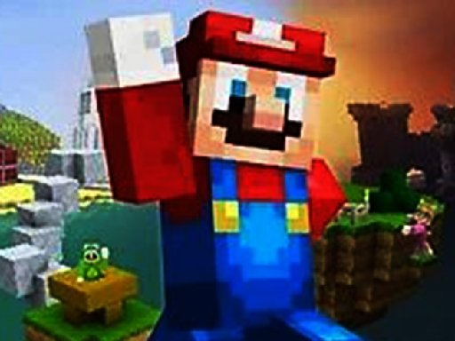 Slagalica za Minecraft Mario