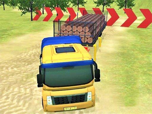 Moderna vožnja izvan kamiona uzbrdo