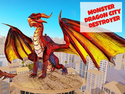 Monster Dragon City Destroyer