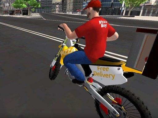 Dostava motociklističke pizze 2020