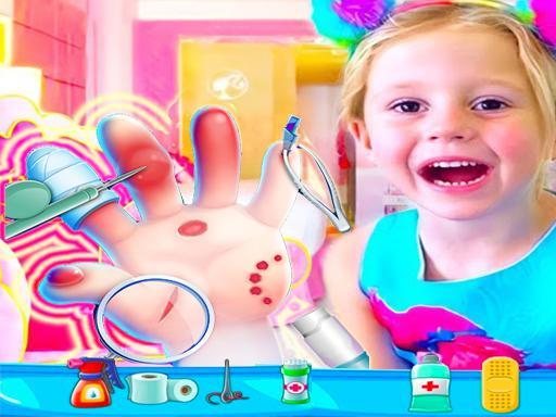 Nastya Hand Doctor Zabavne igre za djevojčice na mreži