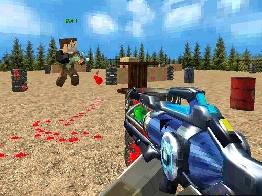 PaintBall zabavno pucanje za više igrača