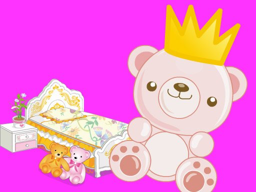 Dekoracija sobe princeze Cutesy