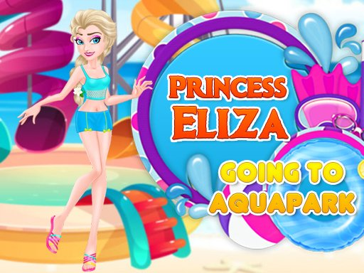 Princeza Eliza ide u vodeni park