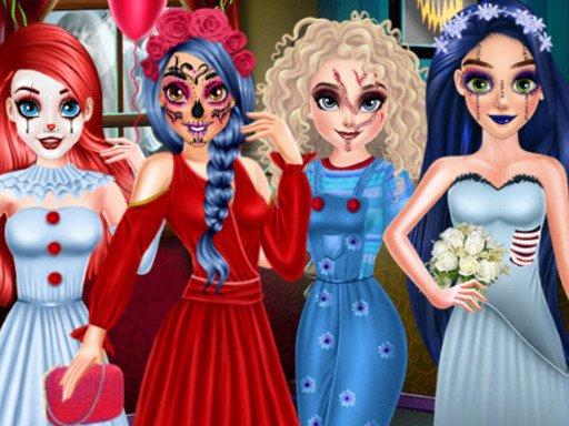Princeza Halloween Party Priprema