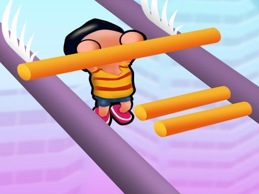 Roof Run: Slide Roof Rails – simple fun game