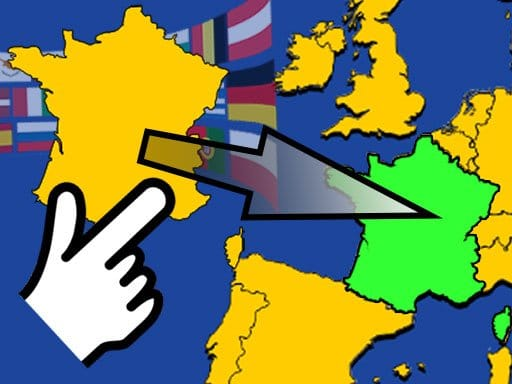 Karte Scatty: Europa