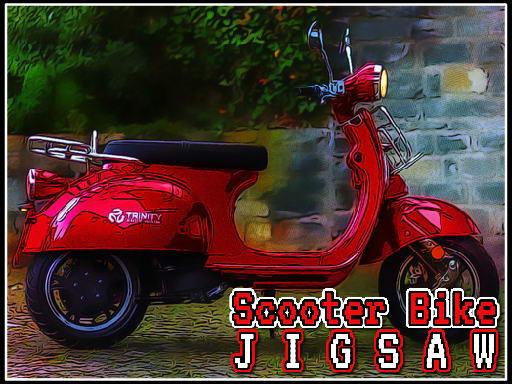 Jigsaw za bicikl skutera