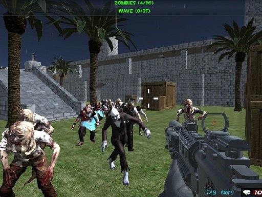 Snimanje Zombie fps-a Xtreme Good vs Bad Boys