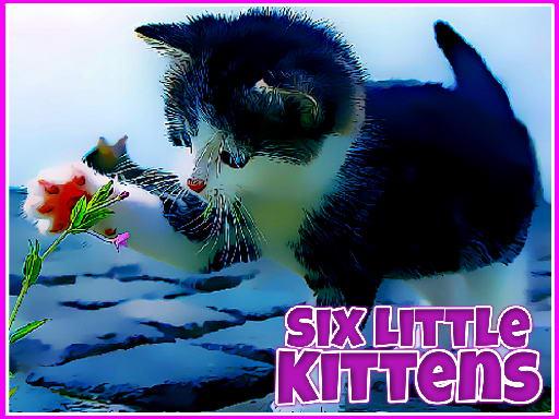 Šest malih mačića