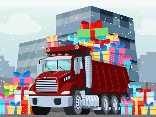 Snježni kamioni skriveni