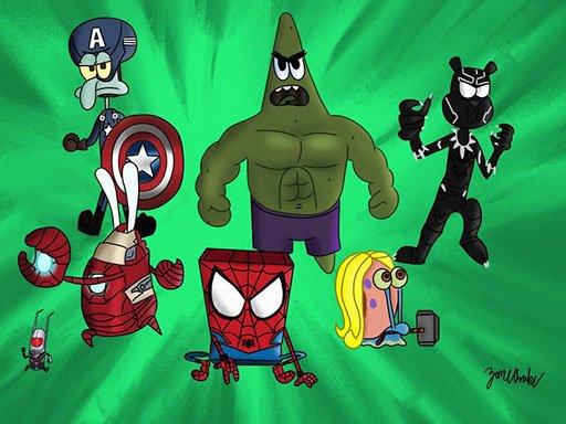spongebob Superhero