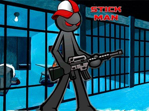 Misija Stickman Adventure Prison Break Break