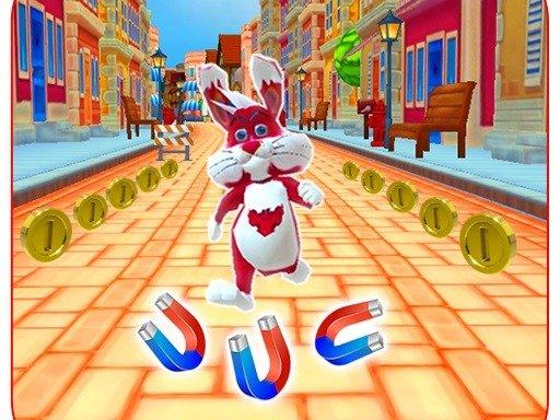 Subway Bunny Run Rush Rabbit Runner igra