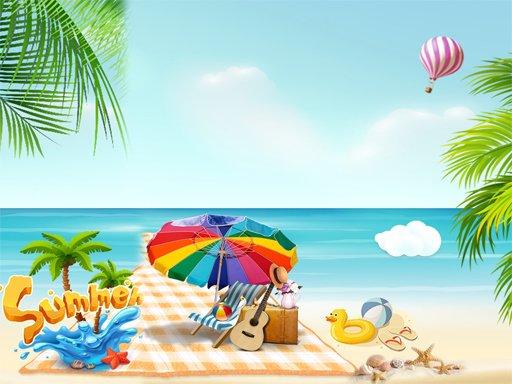 Ljetni tobogan na plaži