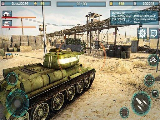 Bitka tenkova 3D: Rat tenkova 2k20