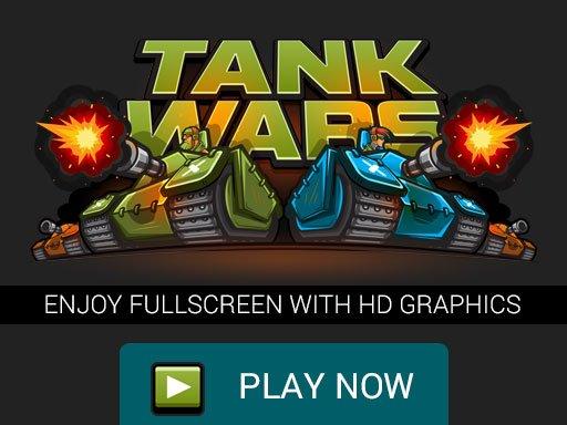 Tank Wars Bitka tenkova, Full Screen Screen HD igra
