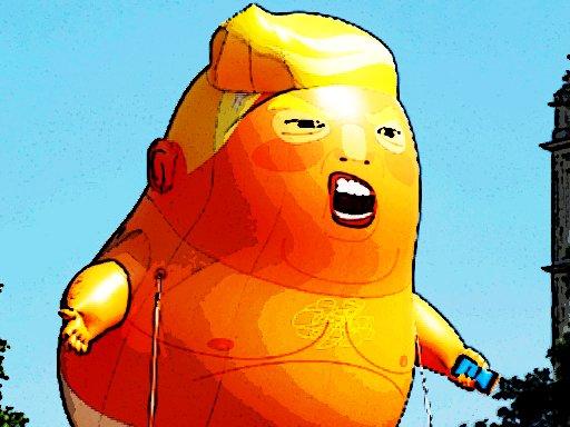 Trump leteća avantura
