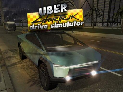 Uber CyberTruck Simulator vožnje